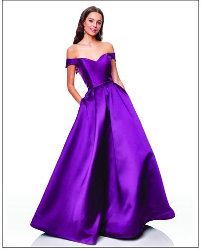 Casino Prom Dress Champagne